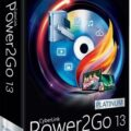 برنامج CyberLink Power2Go Platinum 13.0.2024.0 منافس Nero بإمتياز